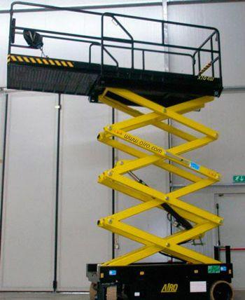 Plataforma Tijeras hasta 10 metros eléctrica