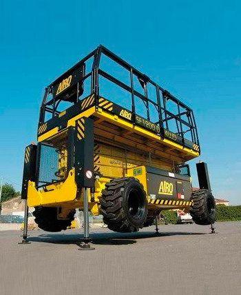 Plataforma Tijeras hasta 12 metros diesel