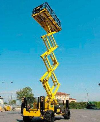 Plataforma Tijeras hasta 16 metros diesel
