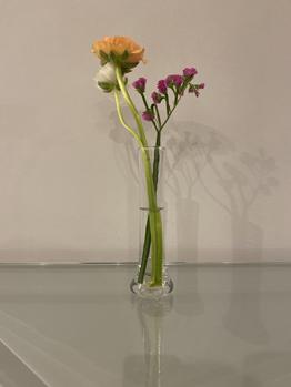 Flores en el trabajo